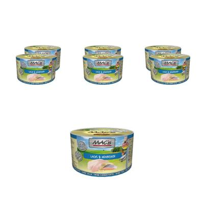 Sparpack! MAC´s Cat Lachs & Hühnchen 6 x 200g