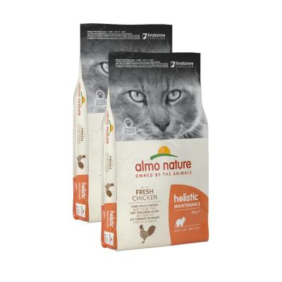Sparpack! Almo Nature Holistic Huhn & Reis | 2 x 12kg