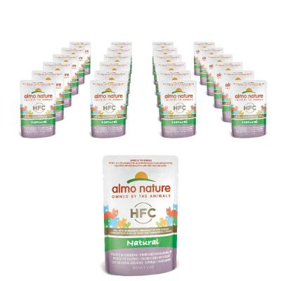 Sparpack! Almo Nature Classic Pouch Huhn & Jungsardellen | 24 x 55g