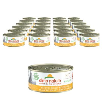 Sparpack! Almo Nature HFC Hühnerbrust | 24 x 140g