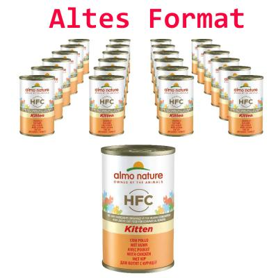 Sparpack! Almo Nature HFC Kitten mit Huhn | 24 x 150g