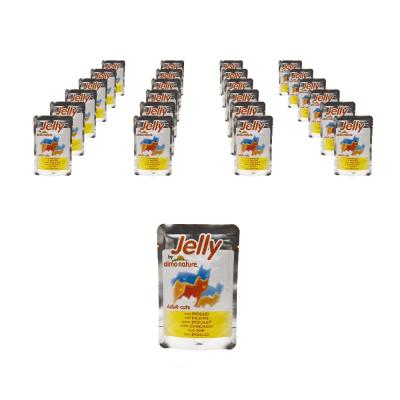 Sparpack! Jelly by Almo Nature mit Huhn 24 x 70g
