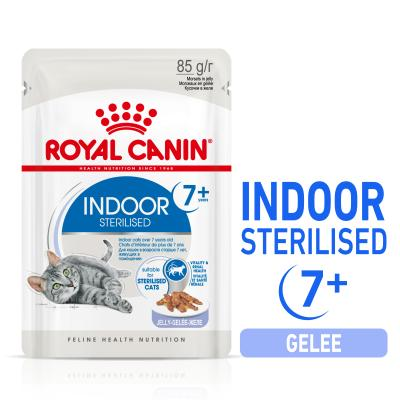 Sparpack! ROYAL CANIN INDOOR 7+ Sterilised in Gelee | 12 x 85 g