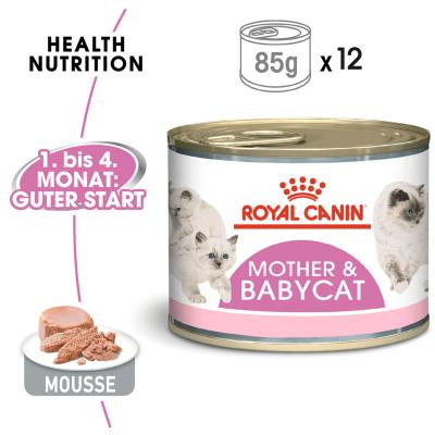 Sparpack! Royal Canin Mother & Babycat Mousse | 12 x 195 g