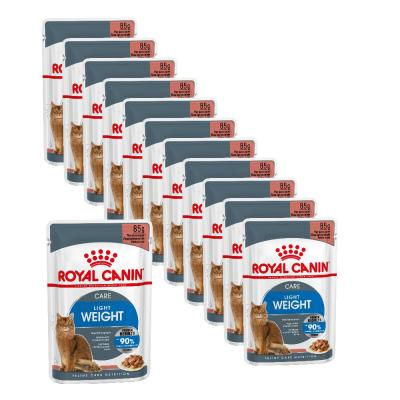 Maxipack Royal Canin Ultra Light in Soße 85g 10 + 2 gratis