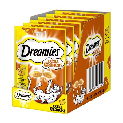 Maxi-Pack! Dreamies Extra Crunch mit Käse 60g 5...
