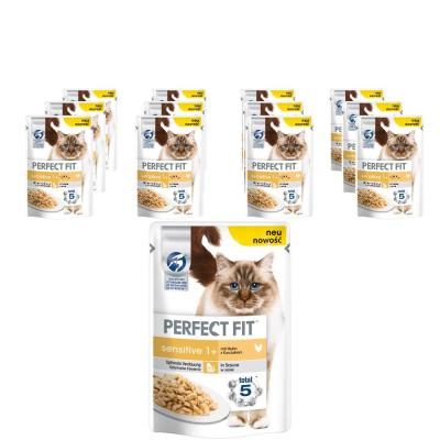 Sparpack! Perfect Fit Sensitive | mit Huhn 12x85g