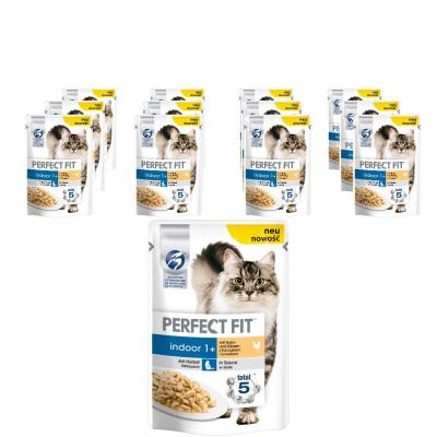 Sparpack! Perfect Fit Indoor mit Huhn | 12x85g