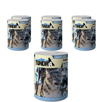 Sparpack! Tundra Cat Lachs & Ente 400g 5 + 1 gr...