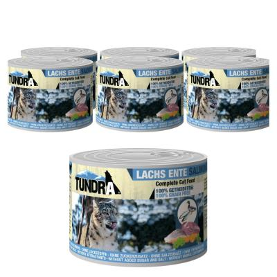 Sparpack! Tundra Cat Lachs & Ente | 6 x 200g