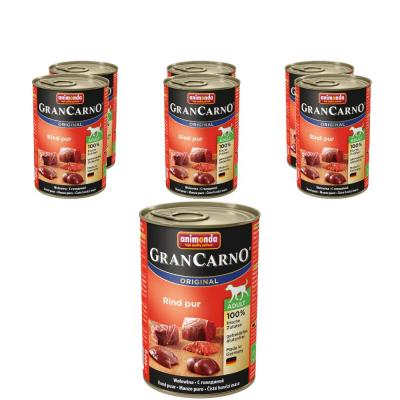 Sparpack! Animonda GranCarno Adult Rind pur | 6 x 400g