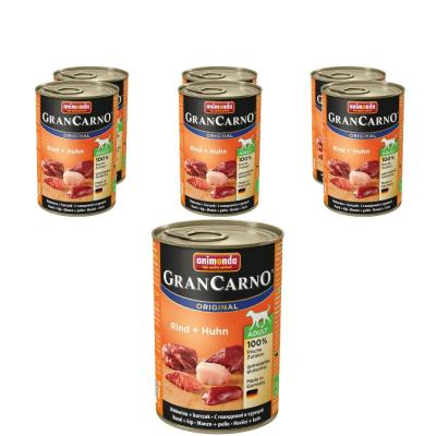 Sparpack! Animonda Gran Carno Adult Rind & Huhn | 6 x 800g