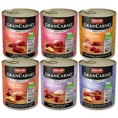 Gran Carno Sensitive Mix Rind, Huhn & Lamm | 6 x 800g
