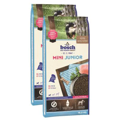 Sparpack! Bosch Mini Junior | 2 x 15kg