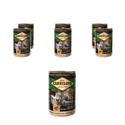 Sparpack! Carnilove Dog - Adult - Duck & Pheasant | 6 x 400g
