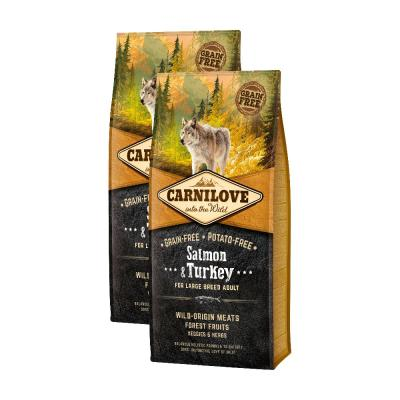 Sparpack! Carnilove Dog Adult Large Breed Salmon & Turkey | 2 x 12kg