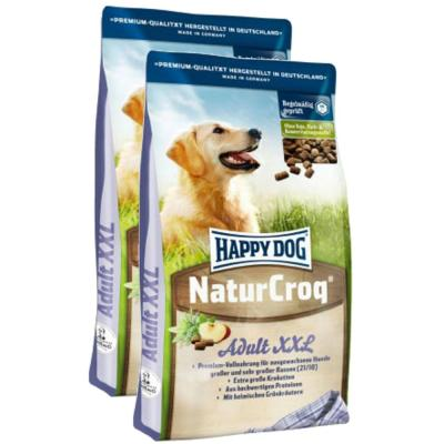 Sparpack! Happy Dog Natur-Croq XXL 2 x 15kg