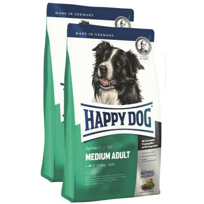 Sparpack! Happy Dog Fit & Well Adult Medium 2 x...
