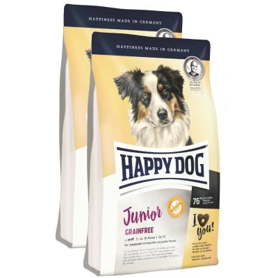 Sparpack! Happy Dog Junior Grainfree | 2x10kg