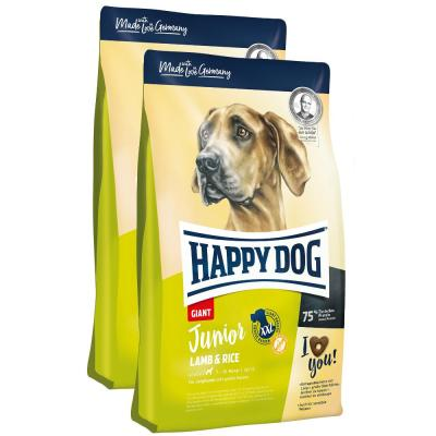 Sparpack! Happy Dog Supreme Junior Giant Lamb & Rice | 2 x 15kg