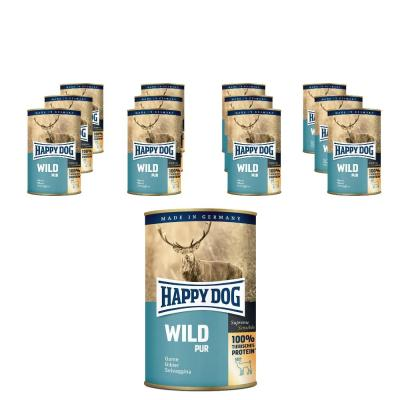 Sparpack! Happy Dog Wild pur | 6x400g