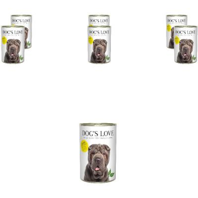 Sparpack! DOG'S LOVE Adult Huhn | 6 x 400g