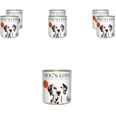 Sparpack! DOG'S LOVE Adult Rind | 6 x 800g