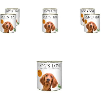 Sparpack! DOG'S LOVE Adult Pute | 6 x 800g