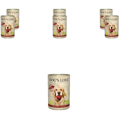 Sparpack! DOG'S LOVE Bio Vegan | Reds 6 x 400g