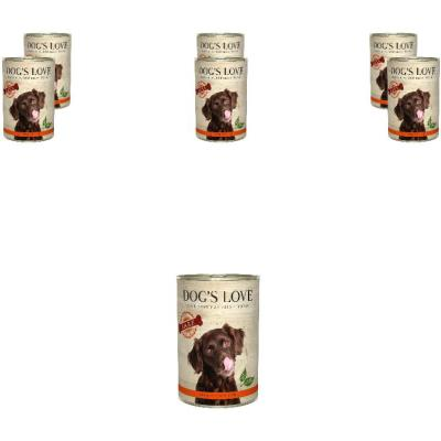 Sparpack! DOG'S LOVE B.A.R.F. Pure Rind | 6 x 400g