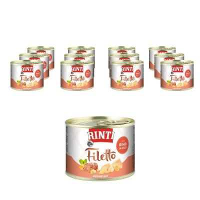 Sparpack! Rinti Filetto in Jelly Huhn & Rind | 12x210g