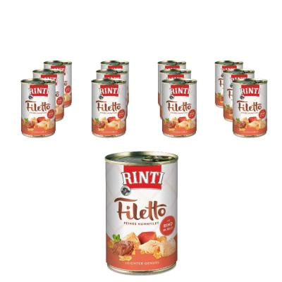 Sparpack! Rinti Filetto in Jelly Huhn & Rind | 12x420g