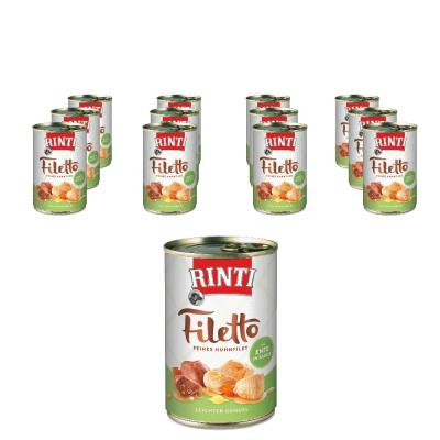 Sparpack! Rinti Filetto in Sauce Huhn & Ente | 12x420g