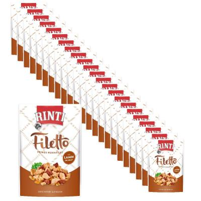 Sparpack! Rinti Filetto in Jelly Huhn & Lamm | 24x100g