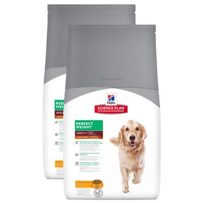 Sparpack!Hill´s Canine Adult Perfect Weight Large mit Huhn 2 x 12 bei FutterPlatz.de - Haustiershop