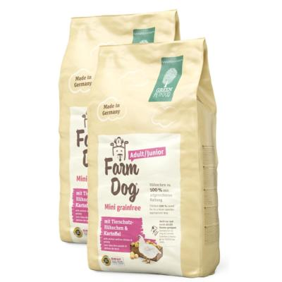 Sparpack! Green Petfood FarmDog Mini Grainfree | 2 x 10kg