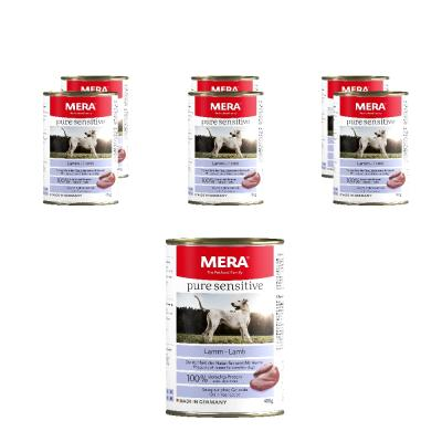 Sparpack! MERA pure sensitive MEAT | Lamm 6x400g