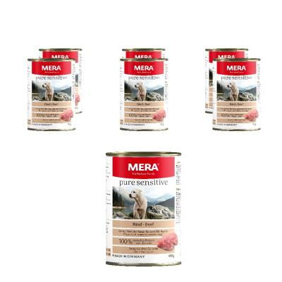 Sparpack! MERA pure sensitive MEAT | Rind 6x400g