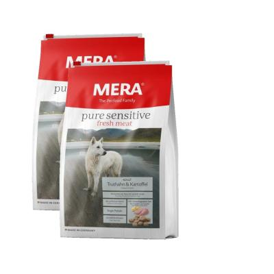 Sparpack! MERA pure sensitive fresh meat Truthahn&Kartoffel | 2x12,5kg