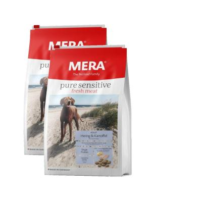 Sparpack! MERA pure sensitive fresh meat Hering&Kartoffel | 2x12,5kg