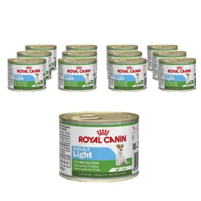 Sparpack! Royal Canin Mini Adult Light | 12 x 195g