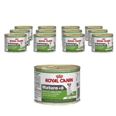 Sparpack! Royal Canin Mini Mature +8 | 12 x 195g