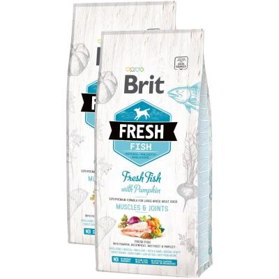 Sparpack! Brit Fresh Fish Muscles & Joints | 2 x 12kg