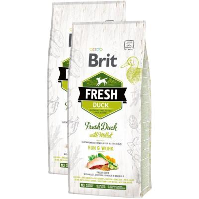Sparpack! Brit Fresh Duck Run & Work | 2 x 12kg