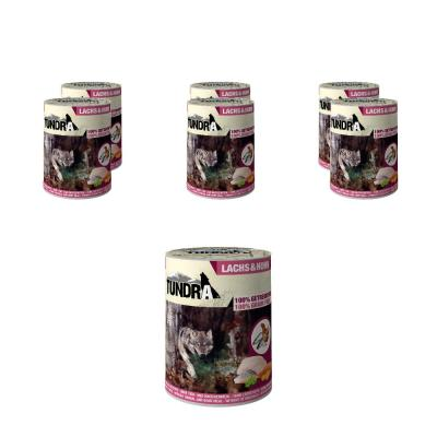 Sparpack! 5 + 1 gratis! Tundra Dog Lachs & Huhn...