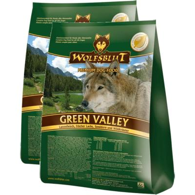 Sparpack! Wolfsblut Green Valley Adult Lamm & F...