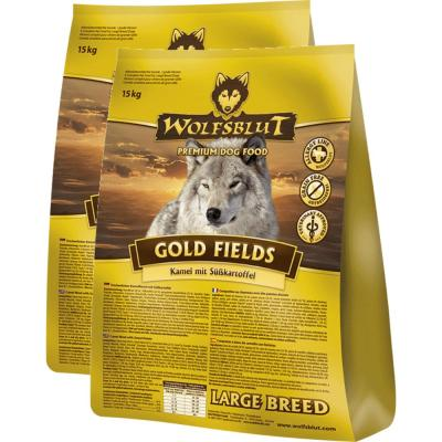 Sparpack! Wolfsblut Gold Fields Large Breed Kam...