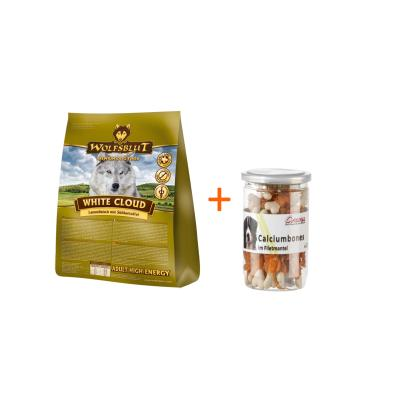 Wolfsblut White Cloud High Energy Adult Lamm & Süßkartoffel | 15kg+Snack gratis