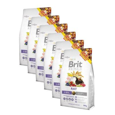 Sparpack! Brit Animals RAT Complete  6 x 0,3 kg