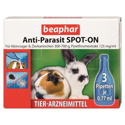c51f81dbb00bb Beaphar Anti-Parasit Spot-On für Kleinnager 3 x 0